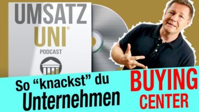 "Buying Center | in 3 Schritten ""knacken"" [Sprachmuster]"